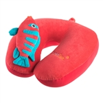 animal neck pillow, cute neck pillow, travel comfort, travel pillow, Xpresspa pillow, fish pillow