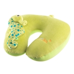 animal neck pillow, cute neck pillow, travel comfort, travel pillow, Xpresspa pillow, sea horse pillow