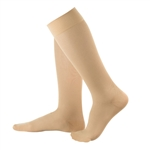 Compression Flight Socks - Sheer Nude Light