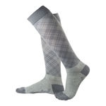 Flight Compression Socks - Plaid